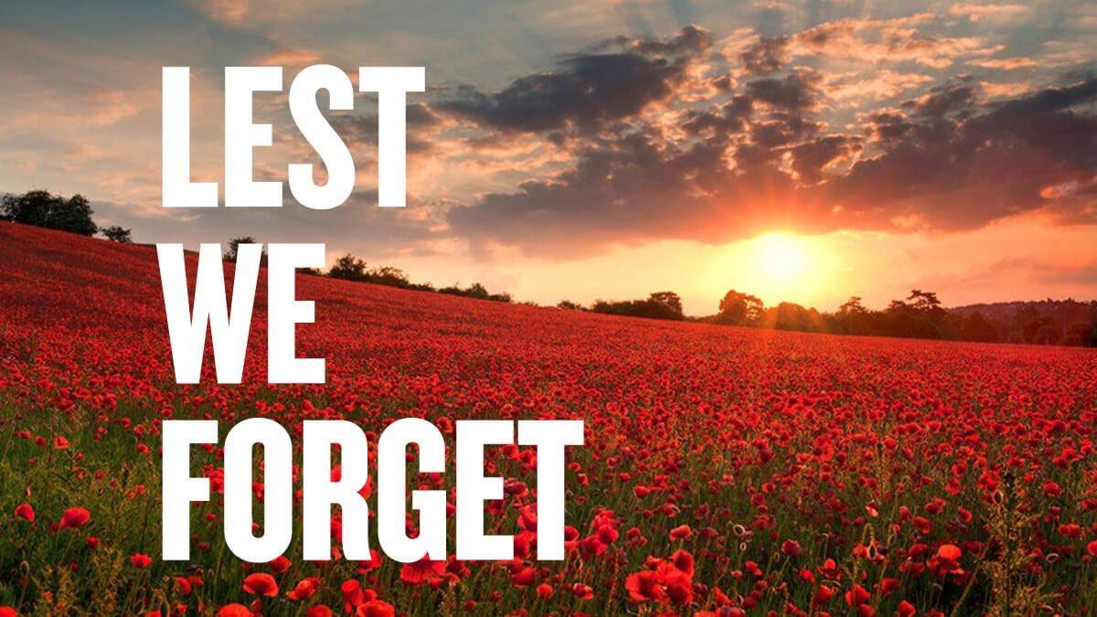 #LestWeForget #ArmisticeDay100 #RememberanceDay