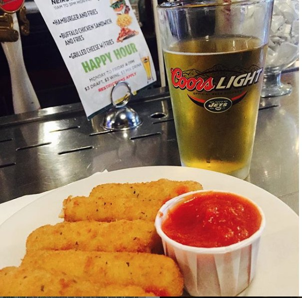 You can come in to watch the #nfl #football games today or just grab a cold one with a #burger or Mozzarella sticks and #beer... We'd LOVE to see you with us! PLUS 5 Miller Lites in our bucket is $2 each * * * #neirs #foodporn #nyjets #nygiants