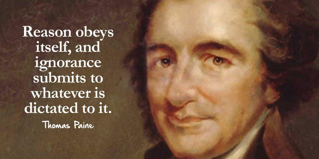 Thomas Paine Quotes Tim Fargo ❤ on Twitter: