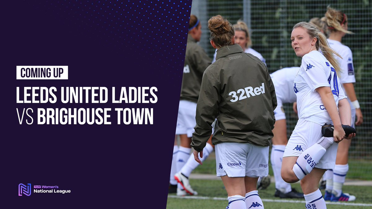 🆚 | #LUFC Ladies are in FA Cup action today, as they face Brighouse Town. Follow all the updates on the Leeds United website from 1pm