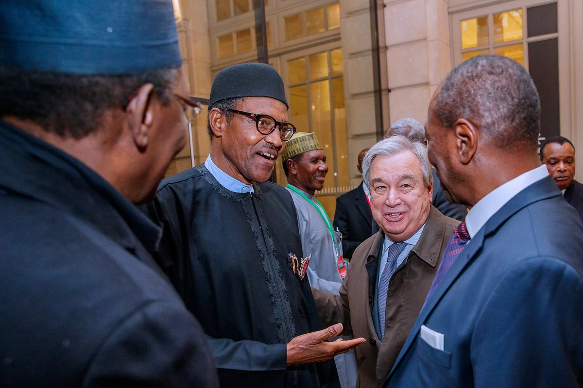 Armistice Day 2018: Buhari, World Leaders Mark End of World War I in Paris