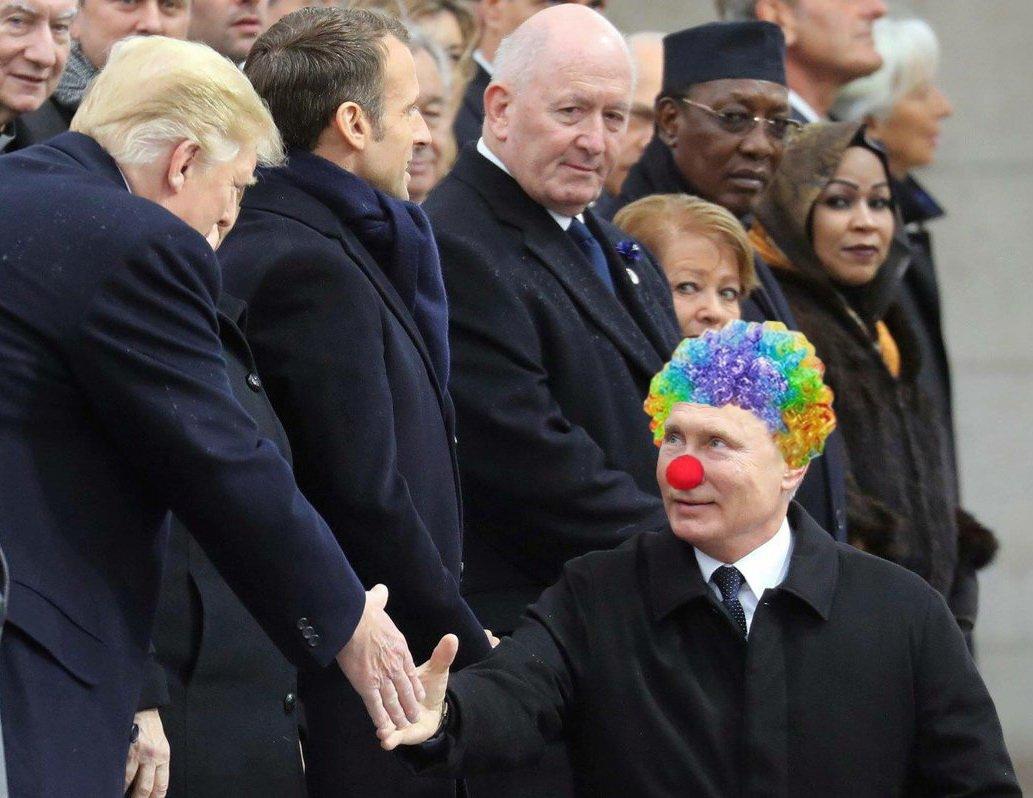 Світові лідери з іронією дивляться на Путіна - Цензор.НЕТ 8943