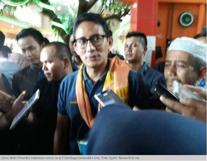 Sandiaga Temui Pengusaha Dan Kaum Milenial Di Banjarmasin. #ElshintaWeekend Photo