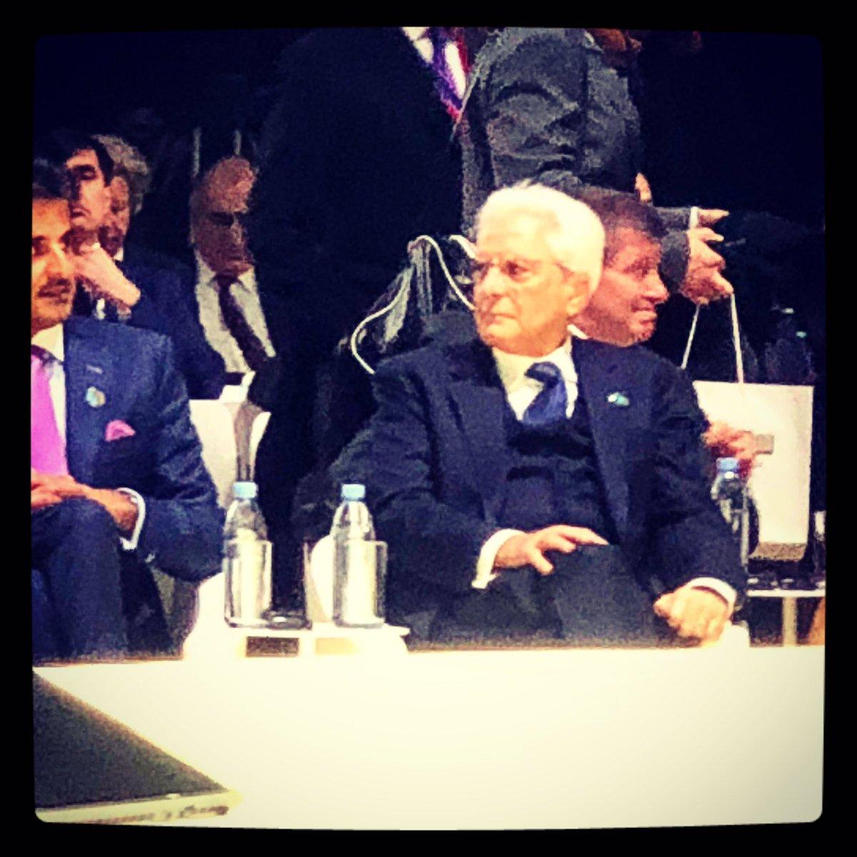 #Felice che l'#Italia sia rappresentata da #SergioMattarella al #ParisPeaceForum https://t.co/pDtJwfvdyc
