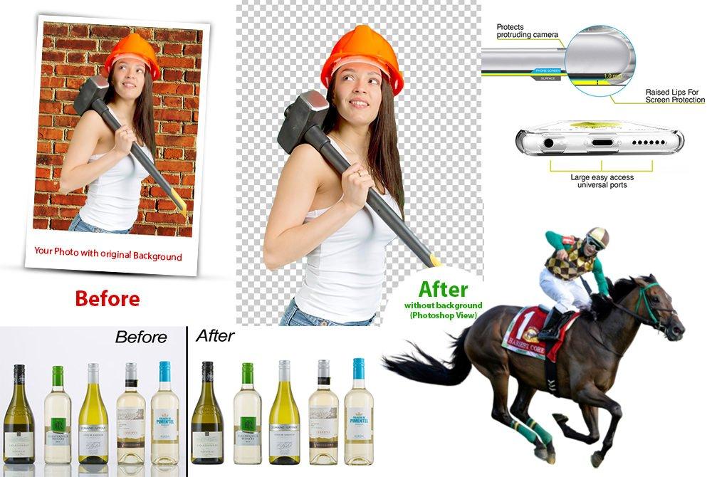 Background Remove Retouching Photo Professional Photo Image Editing Service