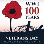 Image for the Tweet beginning: #VeteransDay2018 honors those who serve