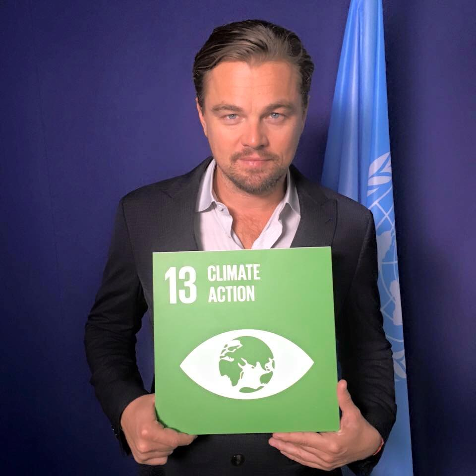 Happy birthday to our Messenger of Peace, @LeoDiCaprio, and thank you for your tireless commitment to #ClimateAction! outreach.un.org/mop/