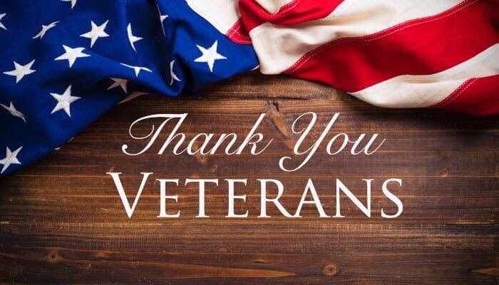 We can never extended enough gratitude to our veterans and their loved ones. Thank you for your bravery, courage, selflessness and sacrifice. Your are true heroes!  #VeteransDay2018