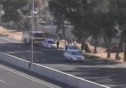 #CPTTraffic Accident: R300 northbound after Stellenbosch Arterial, emergency lane blocked. Please approach with caution. Photo
