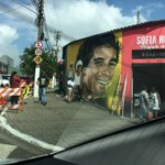 This place still hums with the legend of Senna. Such warmth from the Brazilian fans. Such a contrary country. F1 needs Brazil #f1 #Brazil #BrazilianGP #Ayrton #Senna