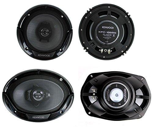 """Kenwood KFC-6984PS 6/"""" x 9/"""" 4-Way Performance Series Coaxial Speakers"""