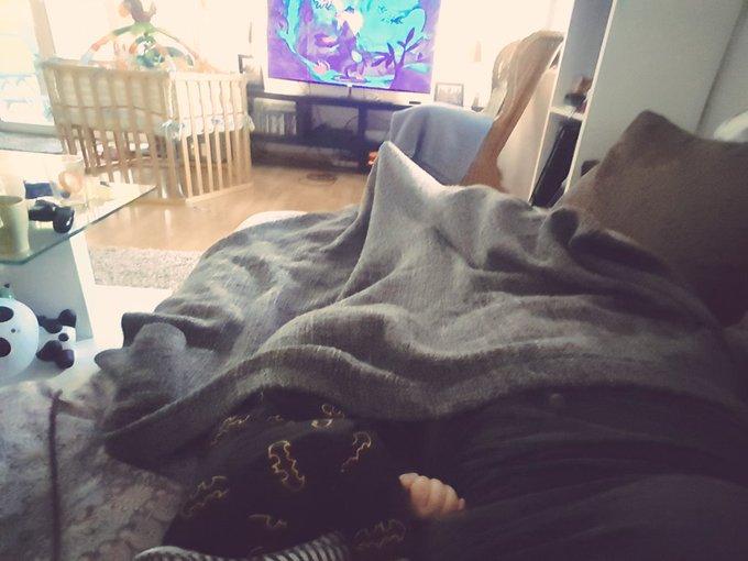 Asante sana matsch Banana 🦁 Schönen Sonntag aus dem kranken Bett 👶🤒😓 Foto