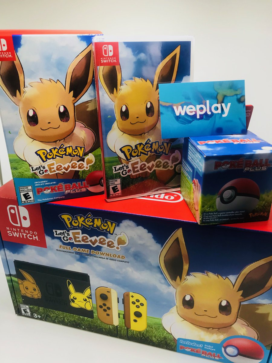 First Photos Of Pokemon Let S Go Pikachu Eevee North American