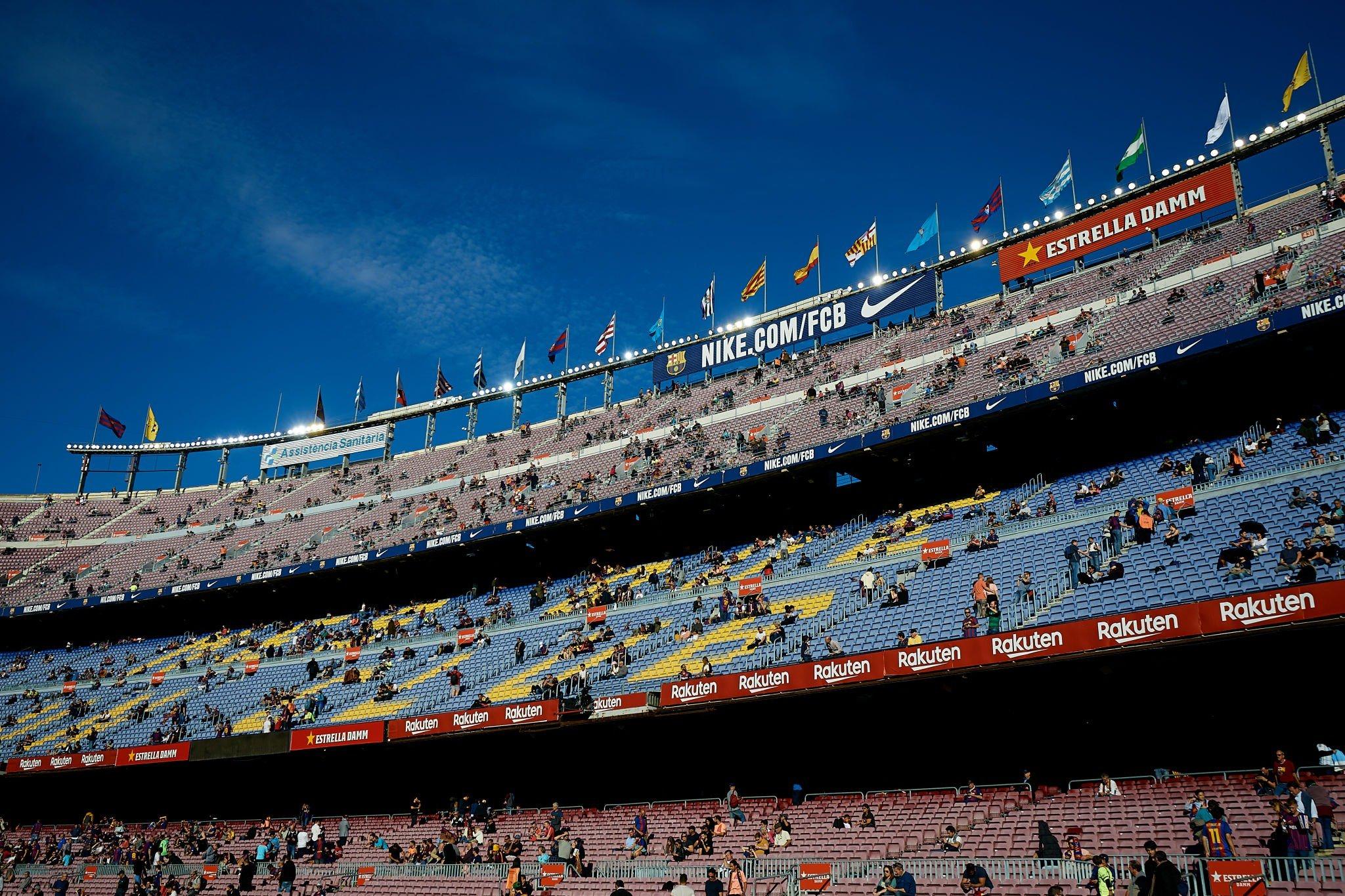 هدف ريال بيتيس في شباك برشلونة