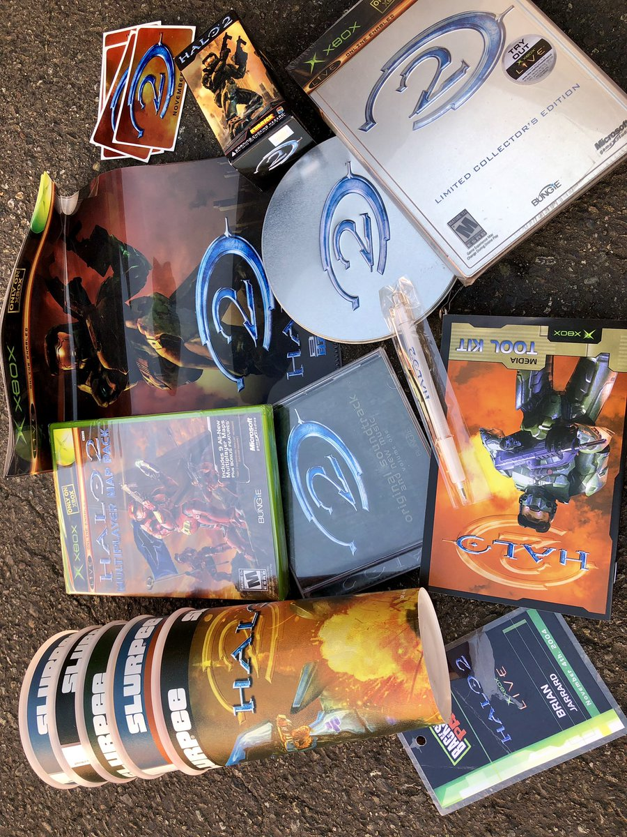 Long overdue trip to offsite storage and I've got Halo nostalgia fever... some real gems buried in these boxes! Just a very small taste of stuff I've hoarded over the years...