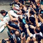 That winning feeling!! 🤜🤛 YES! FIVE TIMES!  #BrazilGP 🇧🇷 #F1
