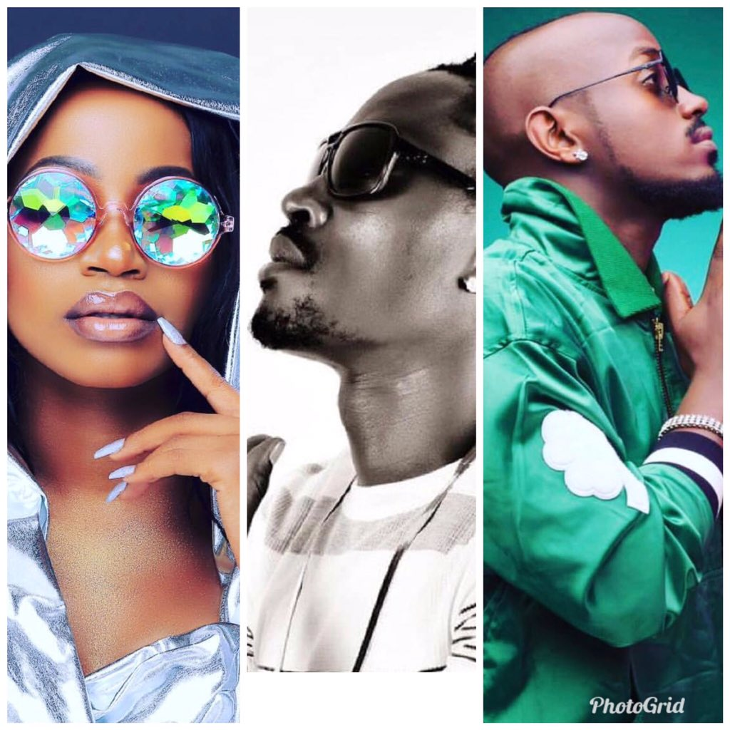 Did u kno on this day God dropped us 3 super stars. Join me wish the Swag Mama Sheebah Karungi, The Boy so Tender Ykee Benda and the XRated Vampino a Happiest Birthday. Cheers to Lyfe 🥂 Enjoy yo day Fam