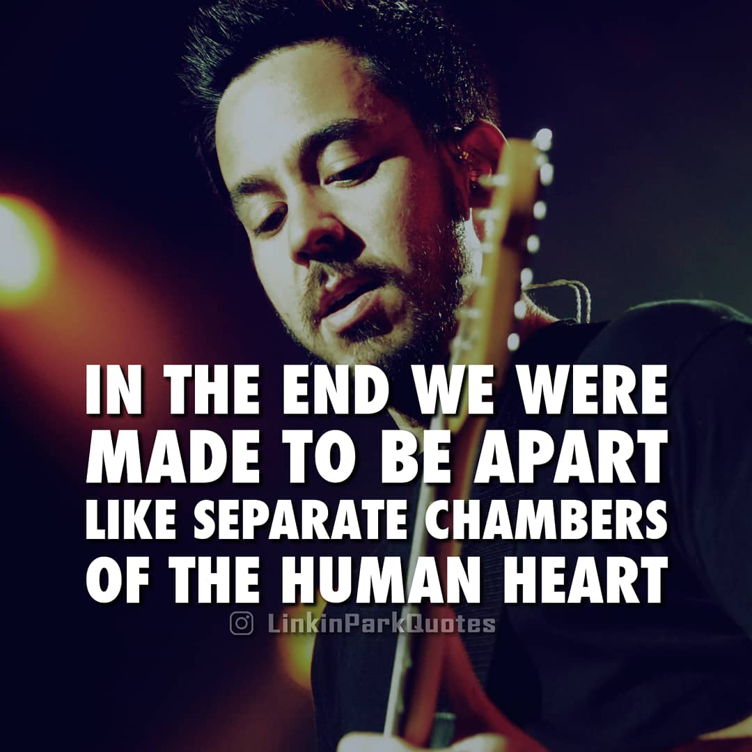 Linkin Park Quotes On Twitter Burning In The Skies