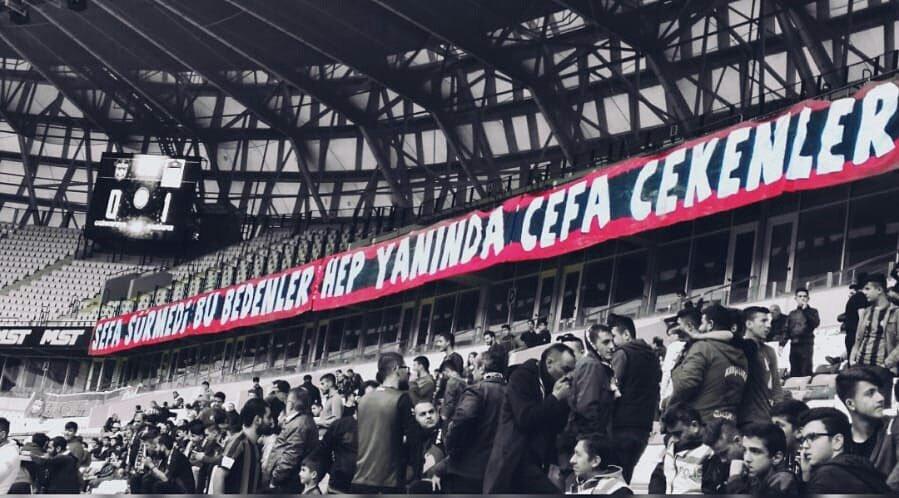 Sefa Sürmedi Bu Bedenler, Hep Yanında Cefa Çekenler  #Gaziantepspor