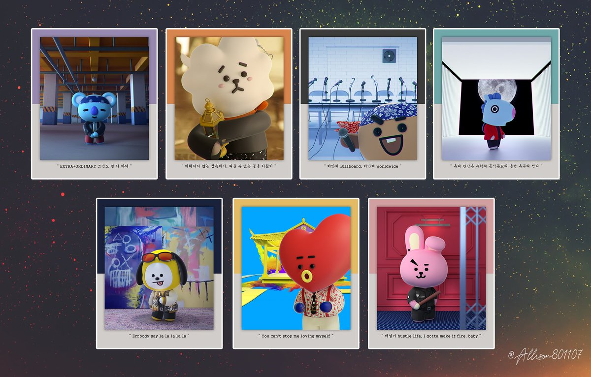 [BT21 FanArt With 7 MV Scence] I made an BT21 Fanart for 12/8 and 12/9 LoveYourSelf Tour in Taiwan I&#39;ll make it for 7 cards, Wish every will love it!!!  #BTS  #BT21 #BTSTaiwan  #fanartbts #防弾少年団 #LOVE_YOURSELF #bt21fanart<br>http://pic.twitter.com/OuUMaroq7C