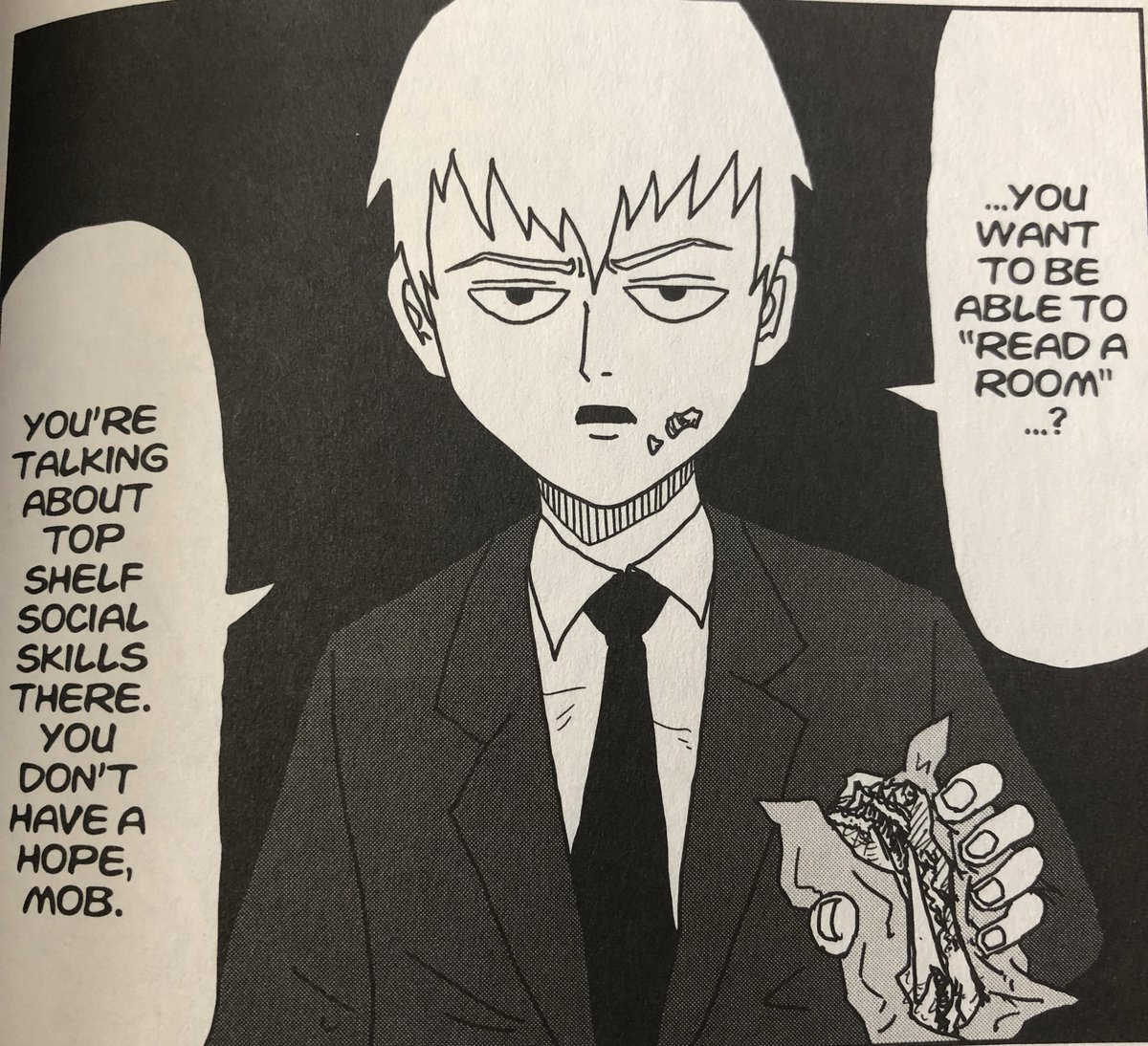 """Minovsky on Twitter: """"Tatsumaki from One Punch Man cameo in Mob Psycho 100…  """""""