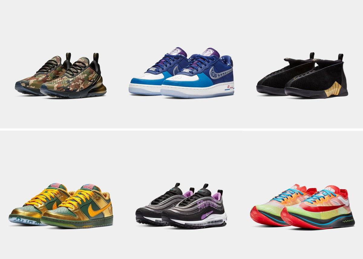e8c1cf3da67 ... Freestyle 2018 collection with six special colourways designed by  patients at Doernbecher Children s Hospital. Not likely to release in Canada  but still ...