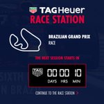 It's 10 minutes until lights out at the #BrazilGP 👊 Get your race updates with the @TAGHeuer race station 🇧🇷👉 https://t.co/a5bcUStpjB  #F1