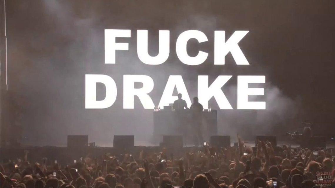 """""""Fuck Drake"""": Pusha T exibe xingamento ao rapper em telão de show e coloca a culpa em técnico"""