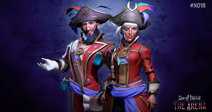 The Sea Dogs are a new trading company coming to the game with The Arena! #SeaOfThieves #X018 Photo