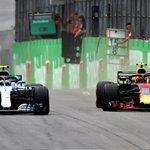 Bulls keeping on pushing 👊 Max P1 and Daniel P4 💪 Still both on original supersoft tyres 🇧🇷 #BrazilGP