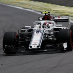 🚦2018 Brazilian Grand Prix - Lap 24🚦  Very sad to see @Ericsson_Marcus retire after yesterday's brilliance 😔 @Charles_Leclerc, keep this up!   - P6 = LEC - OUT = ERI  #Alfaromeosauberf1team #BrazilGP