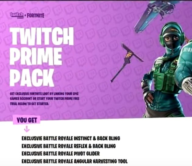 Twitch Prime Pack 3 Fortnitebr - Plymouthicefestival org