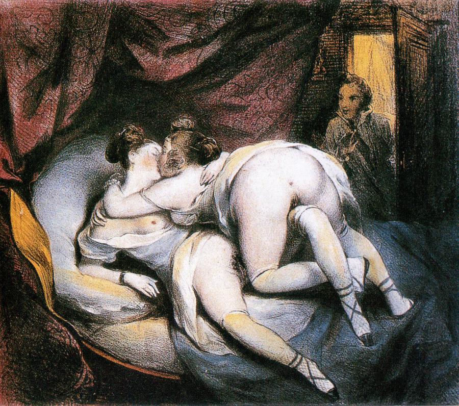 секс на картинах художников