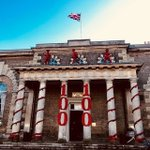 Image for the Tweet beginning: The Guildhall, Salisbury on Remembrance