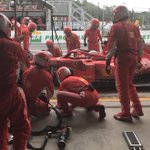 #Seb5 pitting for supersofts, rejoined P7 #BrazilGP