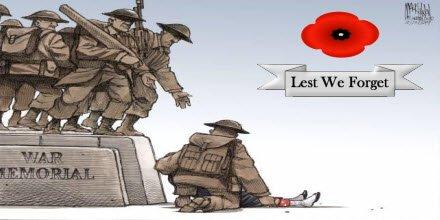 #LestWeForget #RemembranceDay2018 https://t.co/nobQSPgcYn