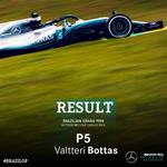 P5 for Valtteri in Brazil!!!!!  Teamwork makes that dream work!!!!!  YEEEEEAAAAAHHHHH!!!!!  #HiFive #F1 #BrazilGP