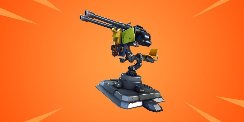 So they're adding a 'Mounted Turret' to Fortnite! 😱