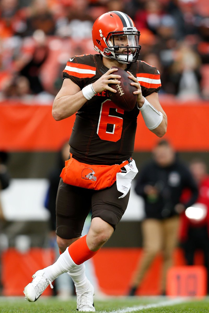 Browns rookies are balling out Baker: 14-16, 3 TD Chubb: 184 yards, 2 TD
