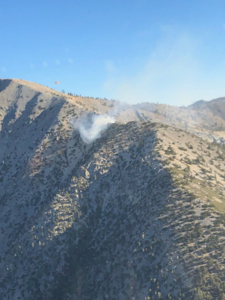 robert garcia on twitter your angeles nf firefighters are working a 1 4 acre wildfire in the sheep mountain wilderness on the west face of mt baldy san antonio at 8 500 feet elevation this is twitter