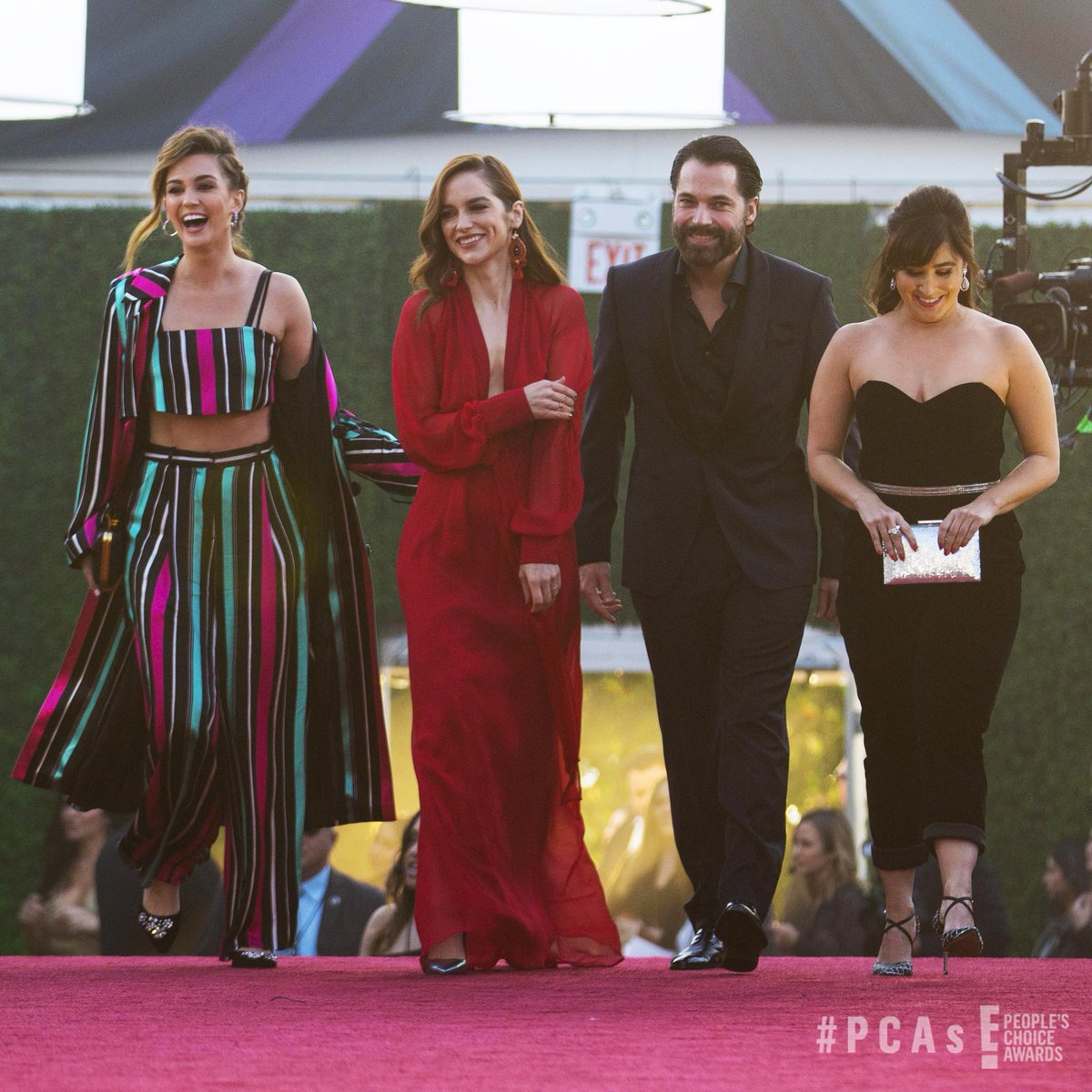 Squad Goals ???? Check out the cast of @WynonnaEarp rolling deep. #PCAs