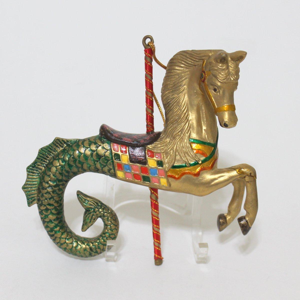 Kurt Adler 2019 Carousel Sea Horse ornament