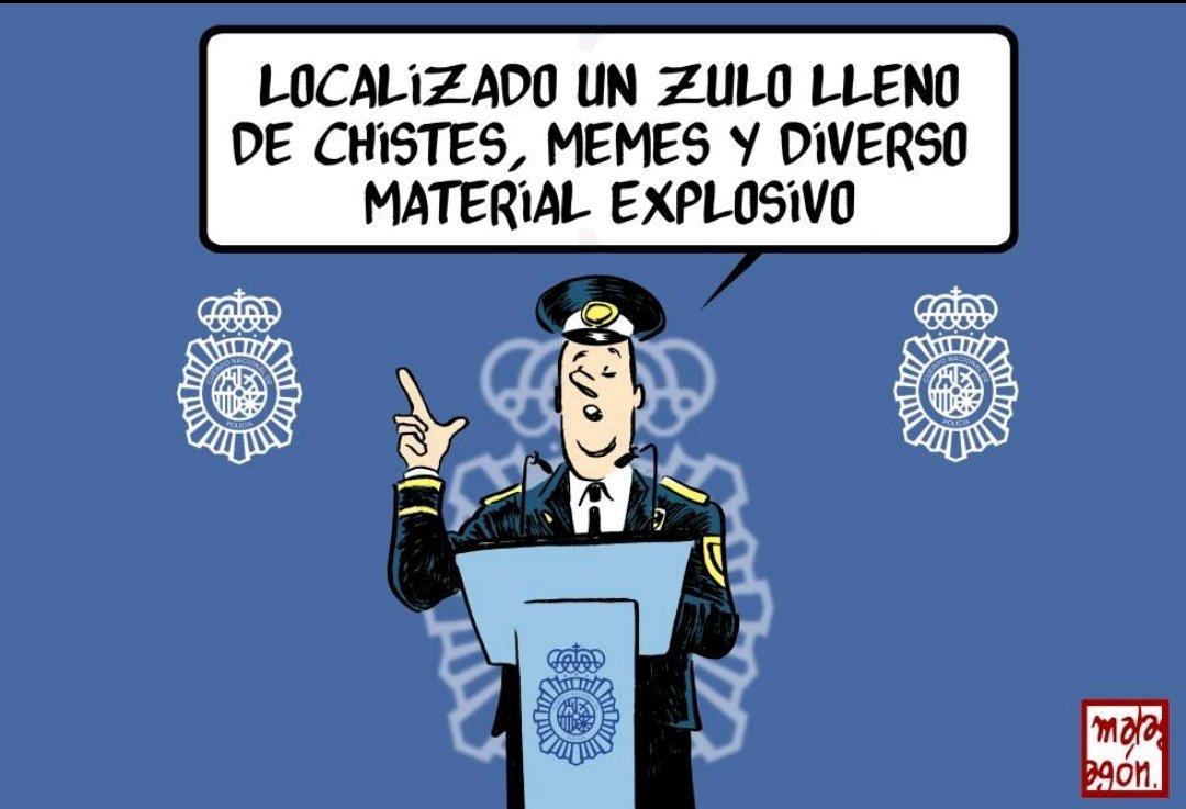 El humor, elemento peligroso, hoy en @elpais_opinion @elpais_espana cc @DaniMateoAgain