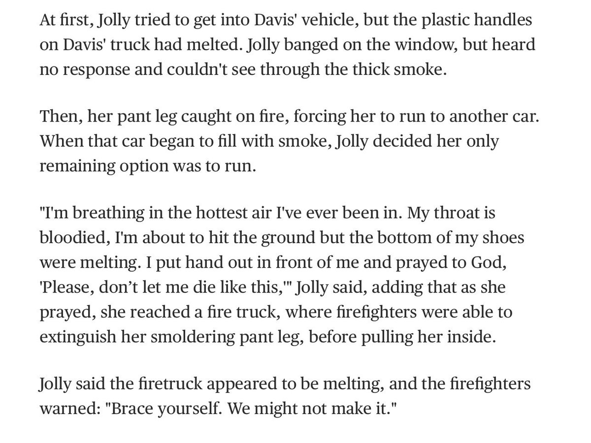 These stories of nurses saving patients from a burning hospital in #CampFire are so intense. https://t.co/y98wXkrM6k