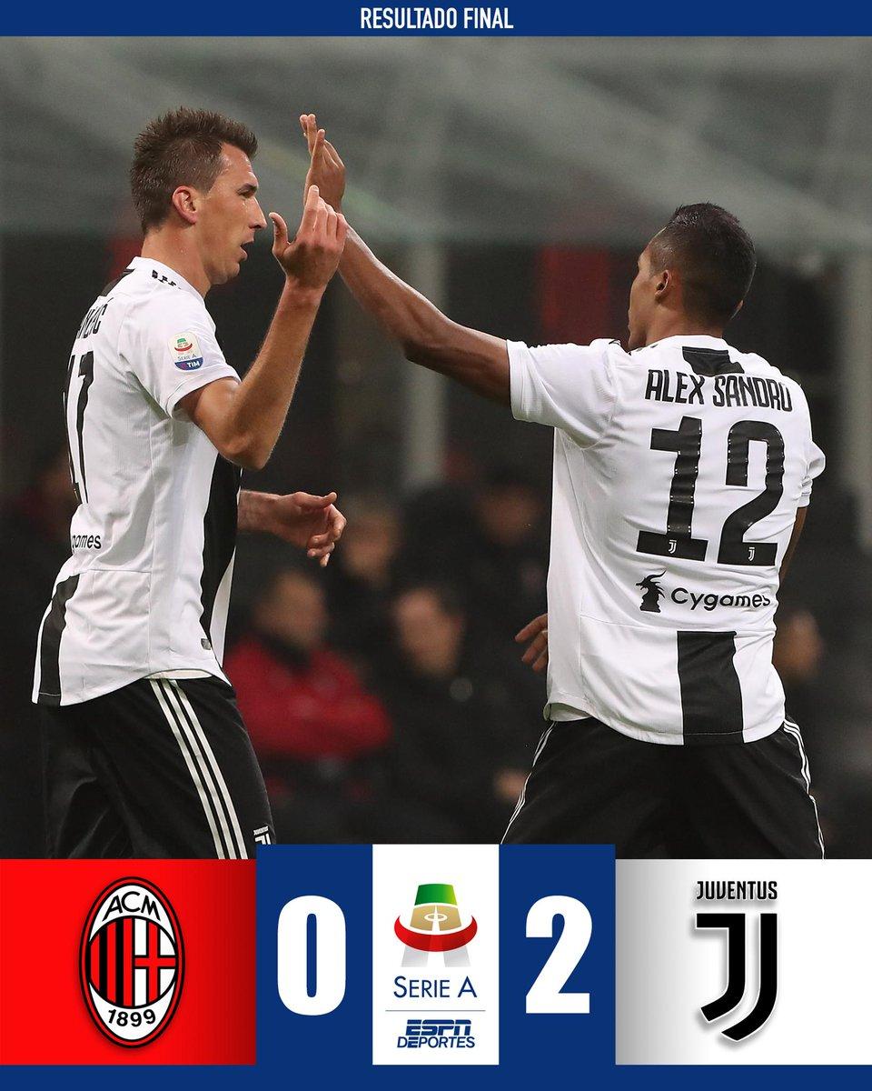 Mandzukic y Cristiano le dieron el triunfo a la Juve de visita. ¿Qué le faltó al AC Milan para ganar? 🤔