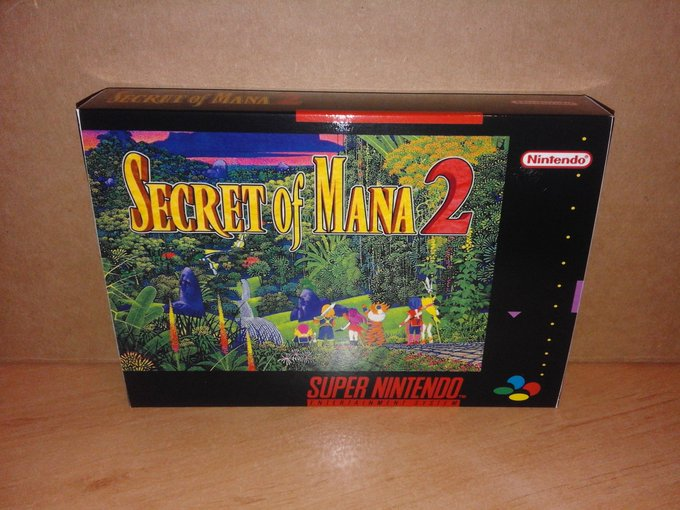 Secret of Mana 2 y tollinas a casco porro con Final Fight 1 & 2 Foto