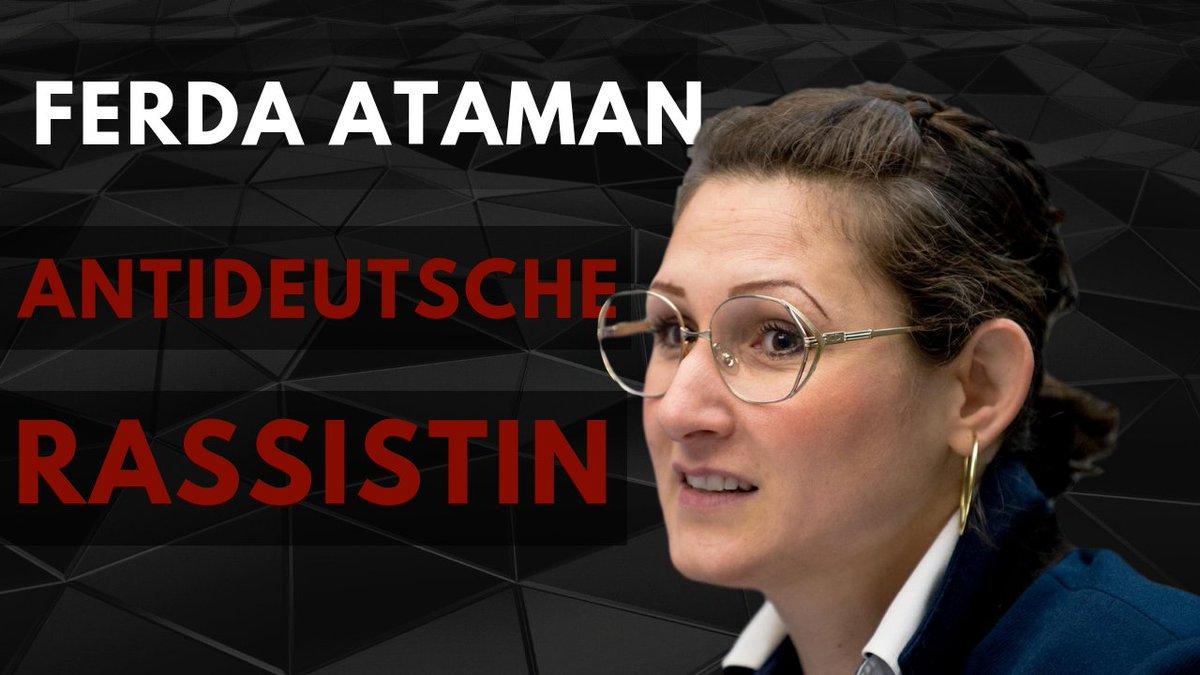 """HYPERION on Twitter: """"Ferda Ataman - Antideutsche Rassistin staatl ..."""