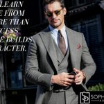 Image for the Tweet beginning: Failure Builds Character #Success #Motivation