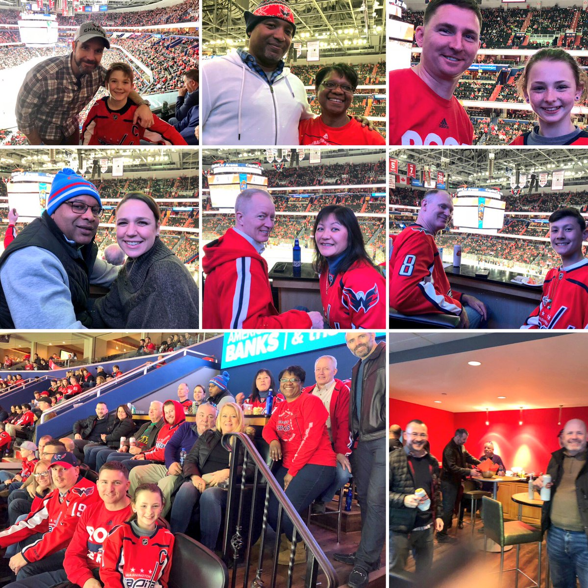 We're honoring local @SOSi_HQ veterans tonight at the @Capitals game. Here are some of our vets and their families having a great time together. To SOSi vets and everyone who has served our country, we thank you for your service! #VeteransDay2018 #ChallengeAccepted