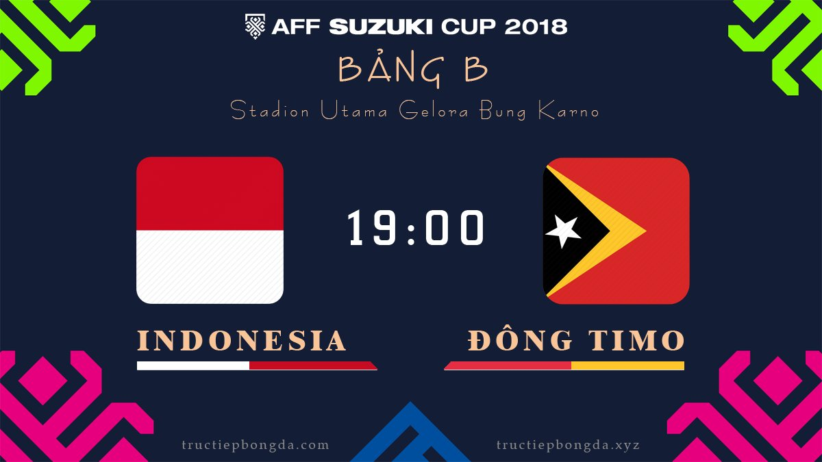 Indonesia vs Đông Timor